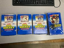 3 1990 Score Hockey Premier Boxes + 1 1990 Pro Set Hockey Series 1 (2160 Cards)