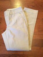 Banana Republic Women's Size 4 Short Khaki Jackson Fit Beige Pants
