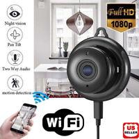 Wireless Mini WIFI IP Camera HD 1080P Smart Home Security Camera Night Vision US