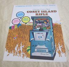 1976 Chicago Coin Coney Island Rifle Arcade Flyer