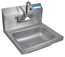 "Splash Mount M Hand Sink 1-7/8"" Drain With Faucet"