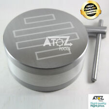 "OEM ATOZ New 5"" 125mm Round Permanent Magnetic Chuck Fine Pole Heavy Duty Power"