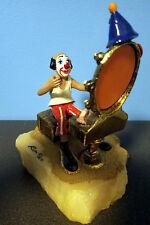 "Vintage 1980 Ron Lee Clown ""JO-JO AT MAKE-UP MIRROR"" #250"