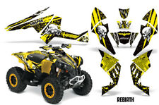 SIKSPAK Can-Am Renegade 500X/R 800X/R 1000 Graphic Kit ATV Decal Wrap REBIRTH Y