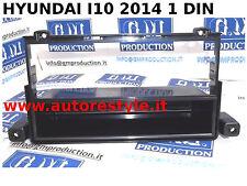 Panneau installation moniteur de radio gps 1 DIN Hyundai i10 à partir de 2014