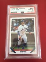 2019 Topps Archives #222 Pete Alonso New York Mets RC Rookie PSA 10 GEM MINT