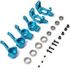 Front/Rear Hub Carrier Steering Upgrade Parts For HSP HPI RC 1/10 Model Car Blue