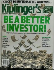 Kiplinger's November 2016 Be a Better Investor Stocks to Buy FREE SHIPPING sb
