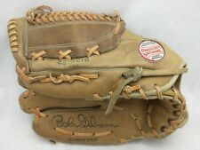 42-3216 Bob Gibson Lht Spaulding Endorsed Vintage Baseball Glove Mitt Leather