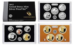 (1) 2012 United States SILVER Proof Set in Original Box