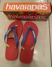 havaianas flip flops Top Mix 39-40(6-7 Uk Size)