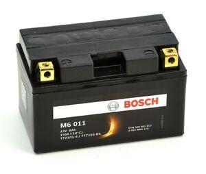 Bosch M6011 Batterie moto YTZ10S-4 / nYTZ10S-BS - 12V AGM 8A/h-150A