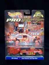 Hot Wheels 1998 Pit Crew Bill Elliott McDonalds Nascar.