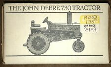 John Deere 730 Tractor 1/43 Spec Cast Toy JDM-006 Pewter Historic Collection