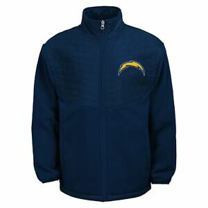Outerstuff NFL Youth (8-20) Los Angeles Chargers Long Sleeve Full Zip Jacket