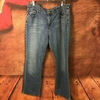 Levi's 515 Womens High Rise Boot Cut Jeans 16 37x32