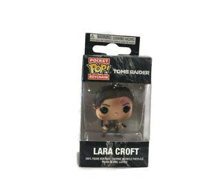 Funko Pop_Tomb Raider Keychain (porte-clés) Pocket POP! Vinyl Lara Croft 4cm