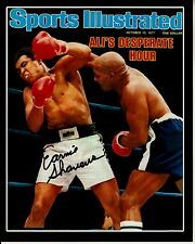 Earnie Shavers signed Muhammad Ali 8x10 w/ coa Sports Illustrated Cover proof