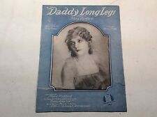 "Antique sheet music;""Daddy long Legs""; Words by: Lewis & Young; Music by: Ruby"