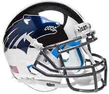 NEVADA WOLF PACK NCAA Schutt XP Authentic MINI Football Helmet (CHROME)