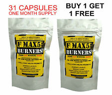 FAT BURNERS CAPSULES STRONG LEGAL SLIMMING DIET WEIGHT LOSS PILLS MAX5 No.1 BID5