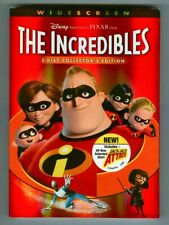 Disney Pixar The Incredibles Widescreen Collector's Edition! Brand New Dvd Movie