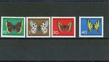 Germany 1962  Butterflies  Scott# B380-3 mint LH