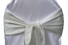 15*275cm Satin Chair Sash Bows Chair Cover Wedding Banquet Party Supply
