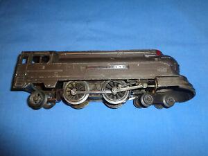 Lionel O Gauge #238E Pennsylvania Torpedo Locomotive. Gunmetal.