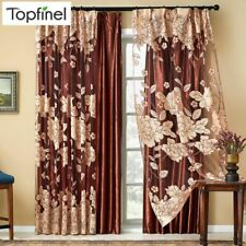 Sheer Curtains For Living Room Bedroom Tulle Window Curtains Window Treatments