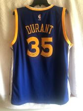 KEVIN DURANT Autographed Golden State Warriors Nike Blue Jersey PANINI