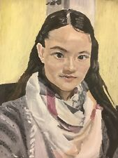 """Turning Your Picture Into Oil Painting. Portraits. FreeShipping. 6x6""""for $50"""