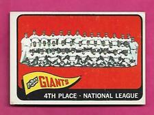 1965 TOPPS # 379 SAN FRANCISCO GIANTS TEAM EX+ CARD (INV# C4193)