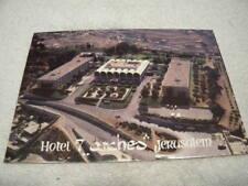 Vintage Hotel 7 Arches Jerusalem Israel Post Card (Never used)
