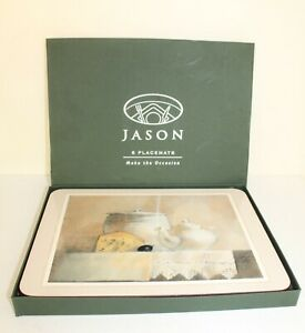 Jason 'Lilita' Cork-backed Placemats Tablemats Abstract Kitchenware Design