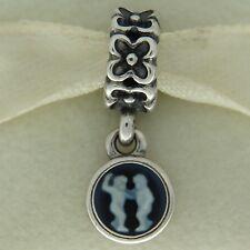 Authentic Pandora 790500CAM06 Cameo Gemini Zodiac Sterling Silver Bead Charm
