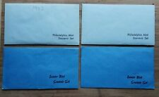 1982+1983 P&D (collection of 4) MINT-ISSUED OFFICIAL SOUVENIR SETS w/ MEDALLION