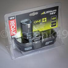 Ryobi RBC18L13 18v Sin cable Ion De Litio Fino Batería 1.3Ah