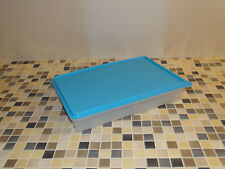 """Tupperware """"PARTY-BOX"""" Frische Behälter 2,7l  klar-blau NEU"""