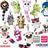 Aurora YOOHOO & FRIENDS Key clips PLUSH Cuddly Soft Toy Teddy Kids Gift New