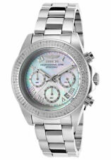 Invicta 16258 Speedway Chronograph Silver MOP Dial Stainless Steel 40mm Watch