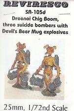 Dreenoi Chig Boom-Bug suicide bombardiere - 3 stagno personaggi-starguard Sci Fi 1:72