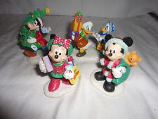 Rare Mickey Express Mickey Mouse Goofy Donald Duck Christmas Decor