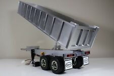 Aluminum Lift Dump Bed Tipper Trailer Motor ESC Tamiya RC 1/14 King Grand Hauler