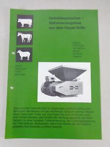 Prospekt / Prospektblatt Höfle Getreidequetsche Universal Q 180
