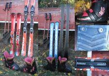 Ski-Ausrüstung Snowblade Schuhe Salomon Skistock Tecno Ski Atomic Konvolut Lot