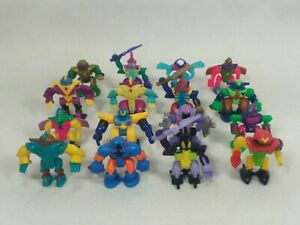 Vintage Micro Machines Mini Z-BOTS Lot of 16 Galoob 1992-93 RARE