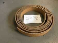 WOVEN BRAKE BAND SHOE MATERIAL 2x3/8 HIGH FRICTION NO ASBESTOS FORD SOLD BY FOOT