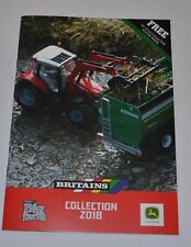 NEW 2018 A5 BRITAINS CUSTOMER  FARM TOY CATALOGUE 2018 ,
