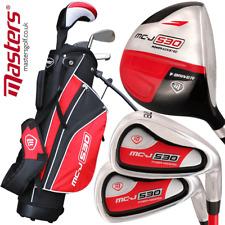 Masters Golf - Junior Mc-j 530 Half Set Age 5-8 Right Hand Black/red